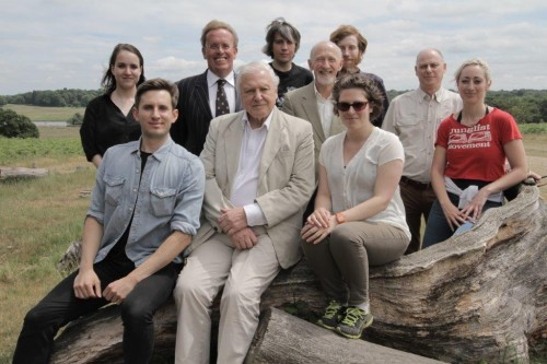 David Attenborough w Crew