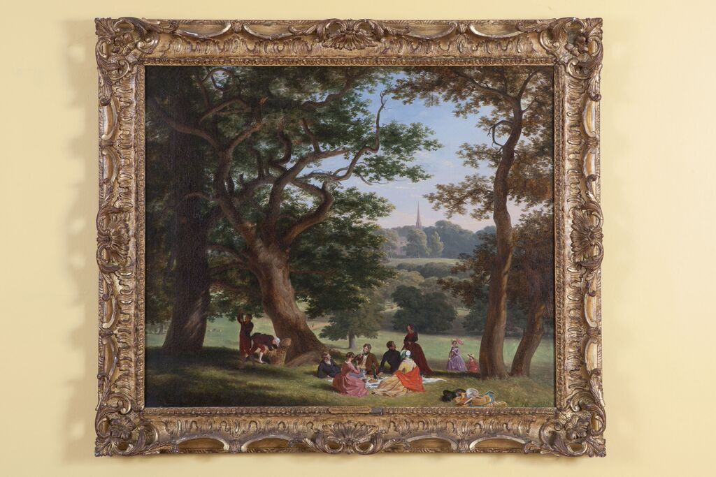 The Earl of Dysart's Family in Richmond Park by William Frederick Witherington (1785–1865)