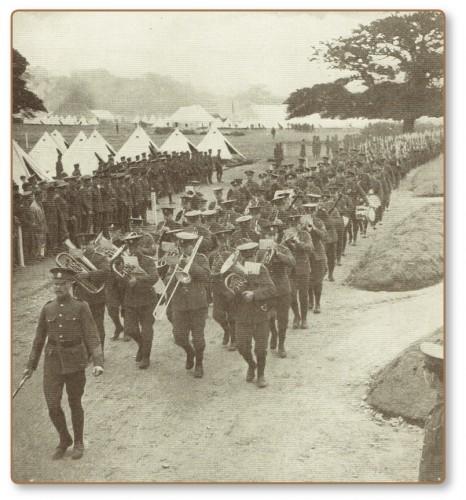5. Military band 1914
